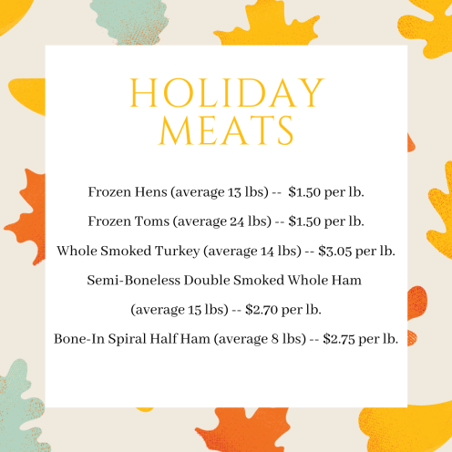 Holiday Meats (1)