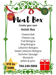 Meat Box - Amish